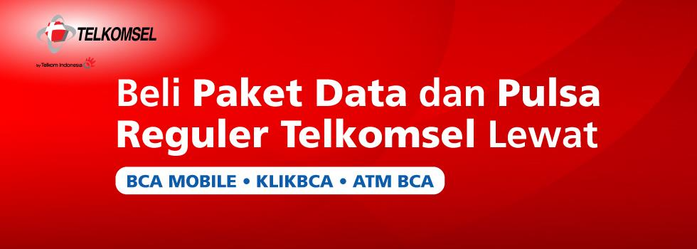 Telkomsel Data Plan and Balance Now Available for Purchase via BCA e-Channels